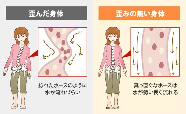 体液循環の改善