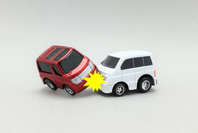 交通事故の写真